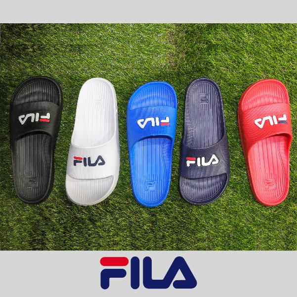 萬特戶外運動 FILA 4-S355Q 防水 一體成形 無接縫 男女尺寸 沙灘拖鞋 情侶鞋 復古經典
