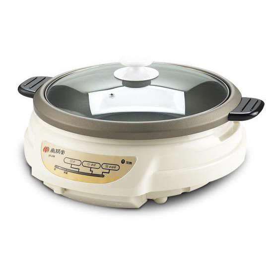 尚朋堂 3.6公升 火鍋、煎、煮、炒、炸不銹鋼電火鍋 ST-336