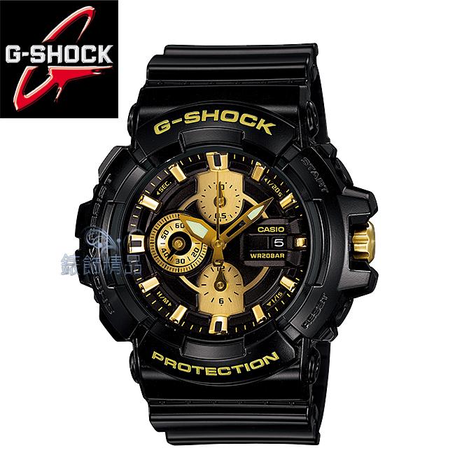 【錶飾精品】現貨 卡西歐CASIO G-SHOCK抗磁 炫黑框金GAC-100BR-1ADR 全新 GAC-100BR-1A 原廠正品 禮物
