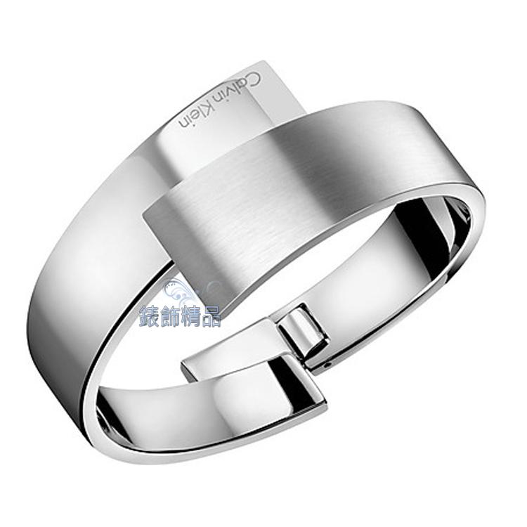 【錶飾精品】Calvin Klein CK 飾品ck手環intense-強烈撞擊系列 銀316L白鋼KJ2HMD0801