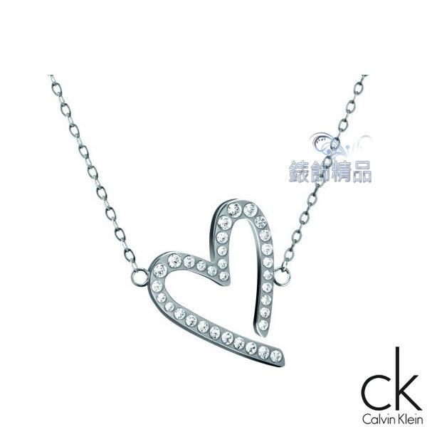 【錶飾精品】Calvin Klein CK飾品 ck女性項鍊 短練joyous歡愉系列316L白鋼 KJ2XWN040100-鑲鑽 生日 情人禮物