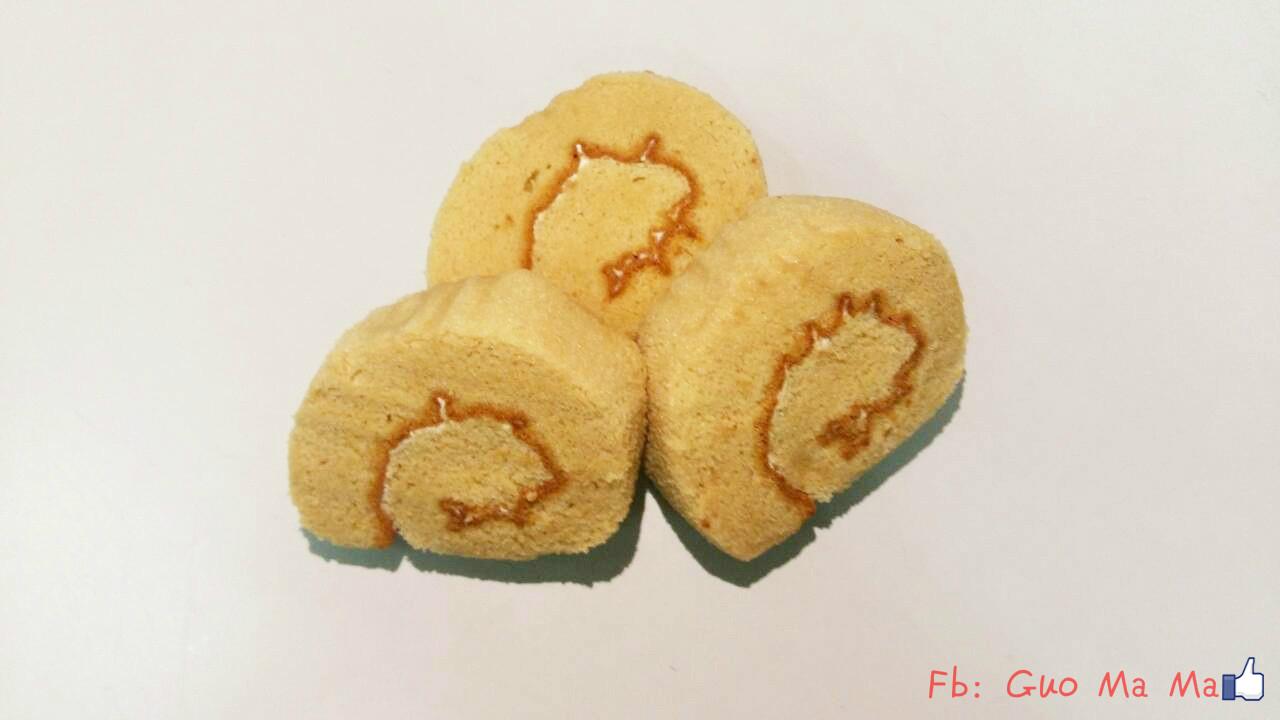 十包免運可混搭~~~郭媽媽手工蛋糕 - 咖啡瑞士捲(小)