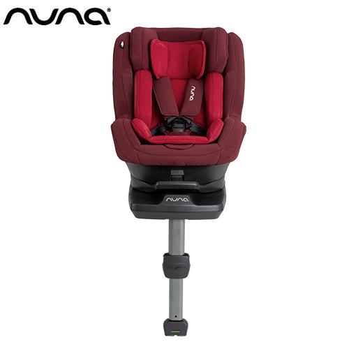 NUNA - Rebl 0-4歲ISOFIX兒童安全座椅 -野莓紅 贈品牌手提袋+可愛玩偶吊飾,加贈費雪可愛動物小鋼琴健身器!