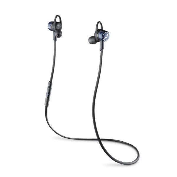 《育誠科技》『Plantronics BackBeat GO3 丹寧藍/黑色』繽特力耳道式音樂藍牙耳機藍芽3.0//HD/防潮防汗/電量顯示/另售jabra rox