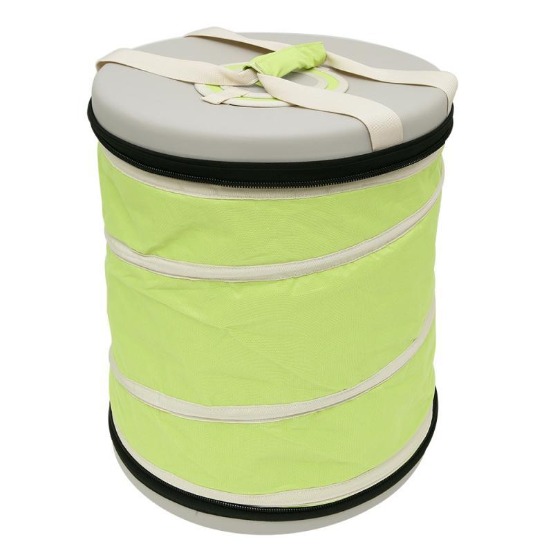 【露營趣】中和 OutdoorBase 23632 春漾保冰野餐桶50L手提冰桶 軟式冰桶 裝備袋 水桶 摺疊冰桶