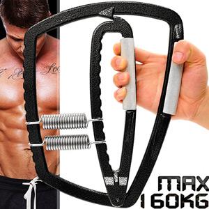 HAND GRIP猛獸MAX握力器(20~160公斤調節)可調式握力器.手臂力器臂熱健臂器.運動健身器材.推薦哪裡買C109-5110