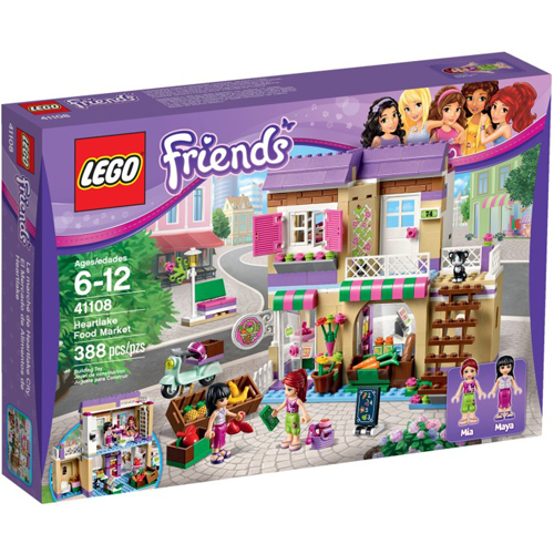 樂高積木LEGO《 LT41108 》2015 年 Friends 姊妹淘系列 - 心湖城超級市場