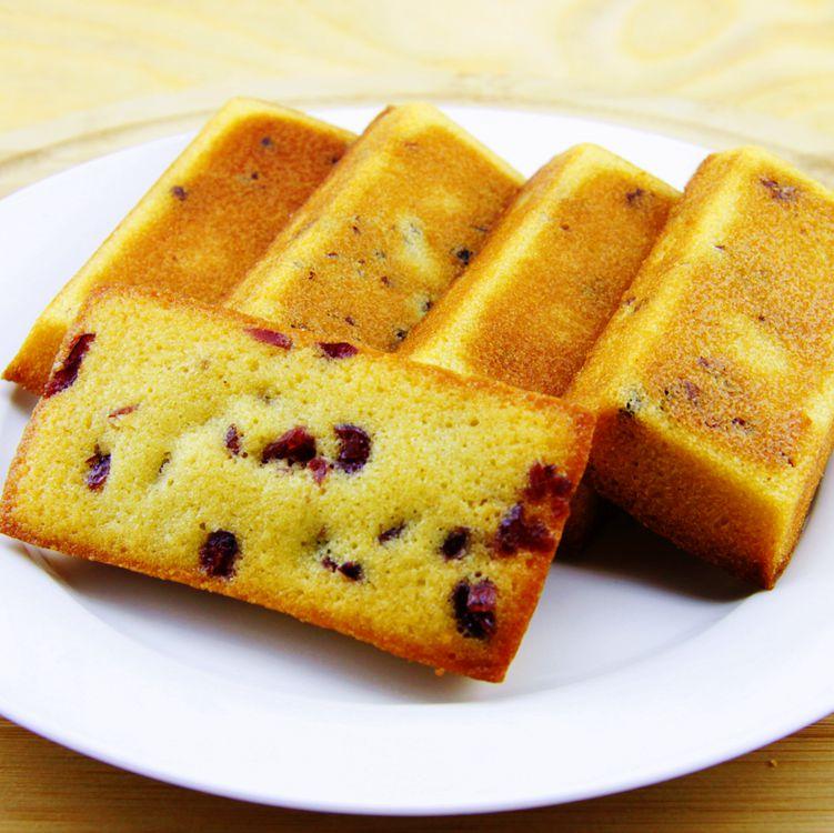 【森之心手工甜品坊】蔓越莓費南雪蛋糕  10入/盒