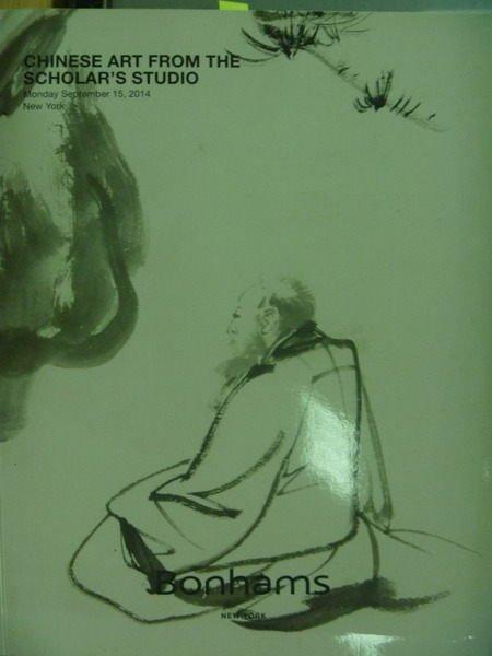 【書寶二手書T6/收藏_ZJN】Bonhams_Chinese Art…Studio_2014/9/15