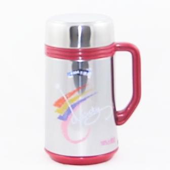 【珍昕】 高點二重真空不鏽鋼保溫杯 0.6L (2色)