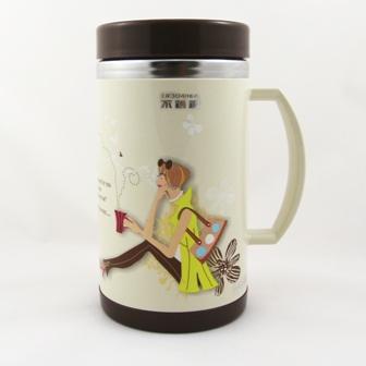 【珍昕】 布朗二重真空不鏽鋼保溫杯 0.5L (2款)