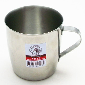 【珍昕】 斑馬牌隨行不鏽鋼加厚級小鋼杯 200cc