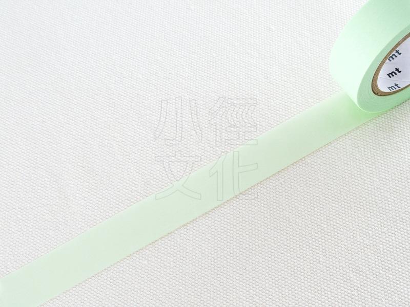 *小徑文化* 日本進口和紙膠帶 mt 1P Basic - 無地_粉綠 ( MT01P309 )