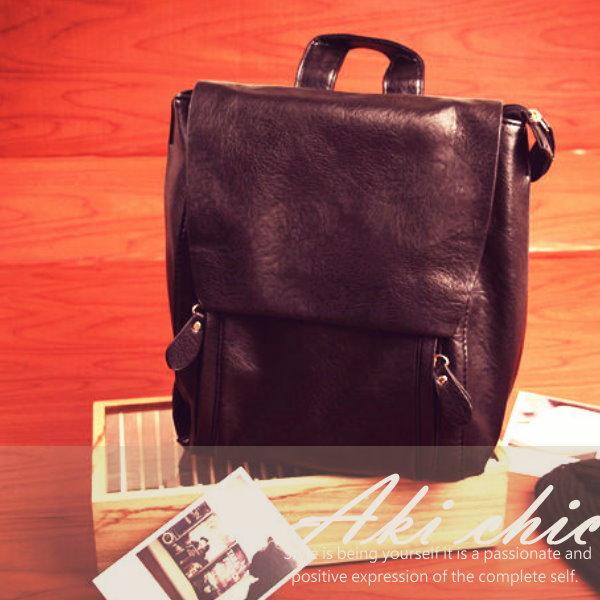 AKI CHIC【b067】韓劇同款皮諾丘 匹諾曹 朴信惠 崔仁荷 學院後背包
