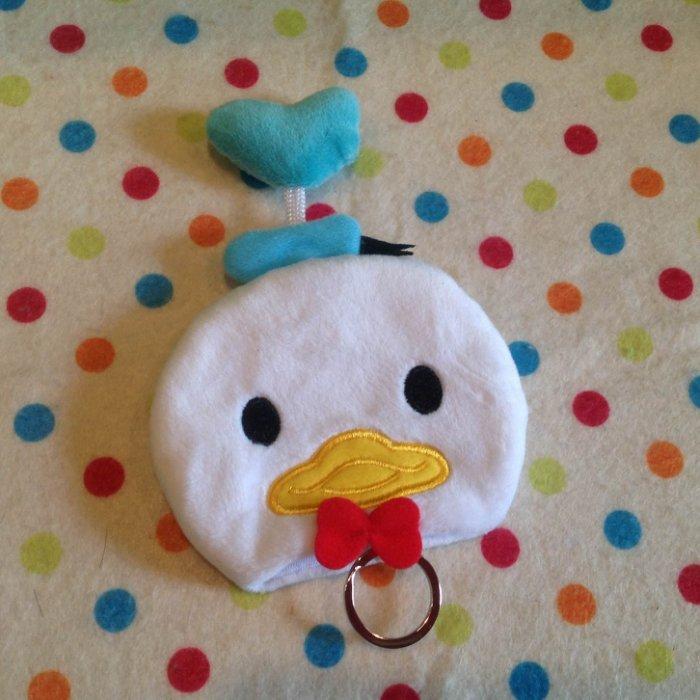 =優生活=迪士尼tsum tsum 疊疊樂唐老鴨duck鑰匙包 鑰匙套 鑰匙圈 收納袋 收納包