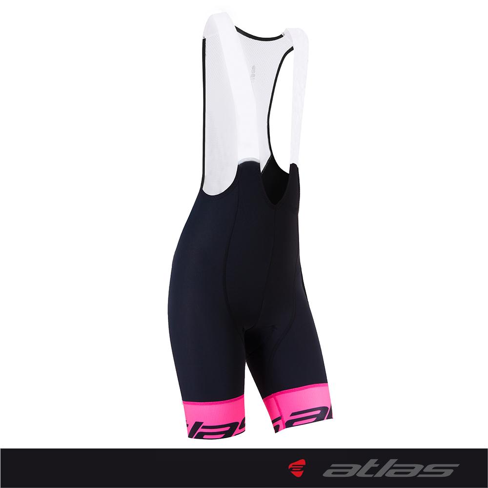 Atlas 亞特力士 女款五分吊帶車褲 HJ-7994(粉紅) 24℃~30℃