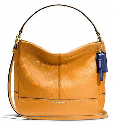 [美國精品櫥窗]Coach Park Leather Mini Duffle Crossbody 正品 真皮 女精品 側/斜揹包