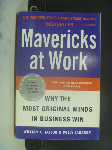 【書寶二手書T6/原文小說_ONC】Mavericks at Work_Taylor
