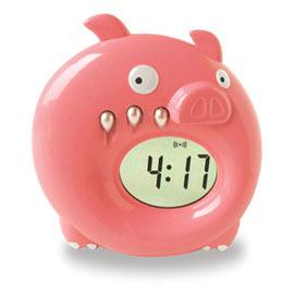 笨笨豬卡通時計 WJ-141【如有積分此商品也可以82000積分免費兌換哦!】