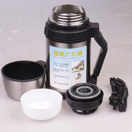2L不銹鋼保溫壺保溫杯旅遊行壺真空水壺廣口壺大容量《現貨供應》