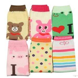 寶襪套 兒童百搭護膝套 護腿套腳套 嬰兒鬆口襪套 長款(2入裝)-7701002