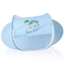 嬰兒蚊帳 夏款折疊式搖籃蚊帳 寶寶蚊帳 新生兒適用-7701002