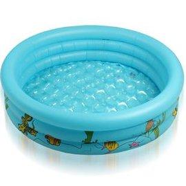充氣浴盆 兒童戲水池 嬰兒遊戲池 釣魚海洋球-7701002