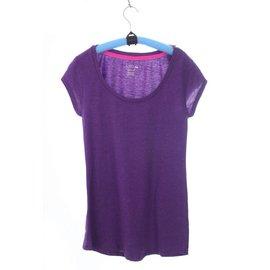 歐美原單女生睡衣家居服 T-shirt 加睡褲(紫)7001003
