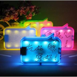 USB充電留言檯燈創意小禮品驚喜生日禮物送女生朋友男生女生特別-7201007