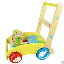 嬰兒學步車 寶寶學步手推車玩具防摔倒折疊 趣味學步車-7701005