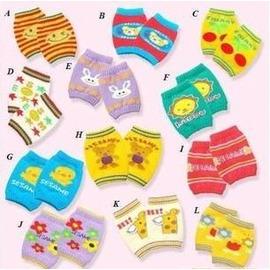 兒童/寶寶/嬰兒護膝/護肘套/短襪套*多色(3入裝)-7701007
