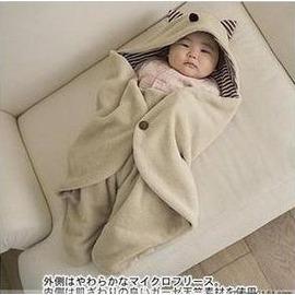 嬰兒抱毯 小魔怪多功能外出抱被/造型睡袋推車專用保暖睡袋/包巾(普通)-7701007