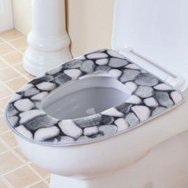 粘貼式坐廁墊 廁所坐墊 塑膠底層馬桶套 卡通馬桶圈馬桶墊馬桶貼-6001004