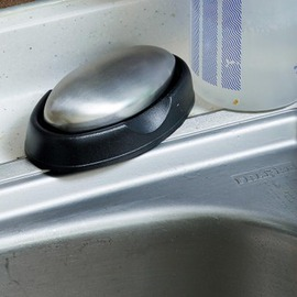 雙立人不鏽鋼去味皂 去腥皂 洗手皂冰箱除異味創意家居-6001004