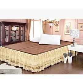 床裙 蕾絲 床單床罩  帶鬆緊套床笠200*200cm(訂做尺寸不退不換哦)