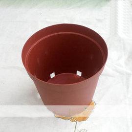 【BF230側孔盆+托盤】花盆 種菜盆外徑22.5內徑22高21.5cm-5101002