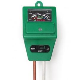 【3合1 土壤測試儀】土壤濕度,酸感度,光照度的測量-5101001