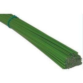 【園藝鐵線-03250】DIY花支架用 綠色包塑鐵線 包塑鐵絲 直徑3.2mm*50cm 20支/包-5101001*