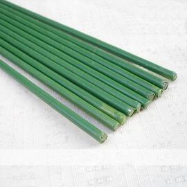 【B60粗包塑鐵線】直徑3.5mm長60cm x16根 園藝支柱 花支架-5101002