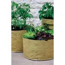 【種植袋-D35&40&45-黃色】家庭菜園 蔬菜種植袋,三個/套(D35*45,D40*30,D45*25cm)-5101001