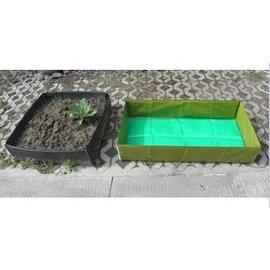 【種植袋-1505020】家庭菜園種植箱種菜池環保種植袋種菜有機蔬菜(雙層夾板) 150*50*20cm-5101001