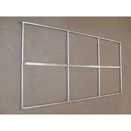 【大棚門-大棚門框-22管】溫室大棚配件 大棚設備 大棚門框 熱鍍鋅4分(22mm)管,數量多可定做-5101009