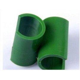 【麻管卡子-塑膠-內徑11mm-40個/組】園藝支柱花架(有多種連接配件供DIY製作、可混搭)-5101013