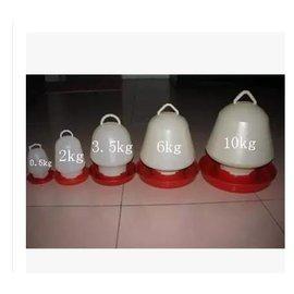 【雞鴨鵝飲水器-塑膠-2號-2.4kg-19*24-6套/組】水桶 水槽 水壺 養殖設備 料桶(量大可海運)-5101015