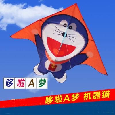 【叮噹貓兒童風箏-叮噹貓風箏+100米線板-1套/組】微風易起飛機器貓風箏多啦a夢卡通風箏,可代購其他配件-30012