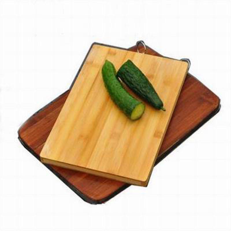 【楠竹炭烤方板-C2434-24*34*厚2cm-2件/組】高山楠竹整木設計板面無膠水砧板面板?面板刀板(不銹鋼提手)-38009