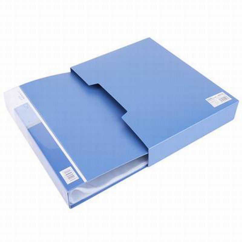 【A4-80頁資料冊-5006-背寬5.0cm-1個/組】資料夾插頁袋塑膠檔案收納冊辦公文具-586003