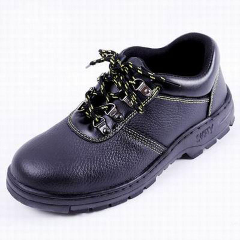 【工作安全鞋-橡膠底-兩款多尺寸-1雙/組】勞保鞋鋼包頭透氣防護鞋實心牛皮防砸耐磨防刺穿-586035