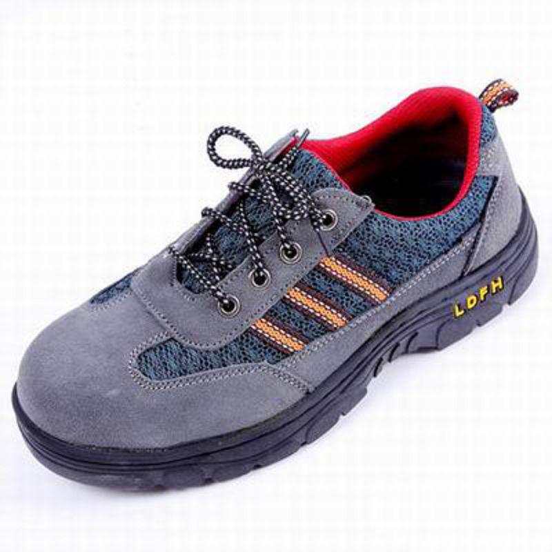 【工作安全鞋-橡膠底-四款多尺寸-1雙/組】勞保鞋鋼包頭透氣防護鞋實心牛皮防砸耐磨防刺穿-586035