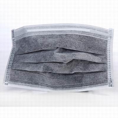 【一次性活性炭四層口罩-獨立裝-50只/盒-1盒/組】呵護防塵防毒病菌勞保防護口罩-586039